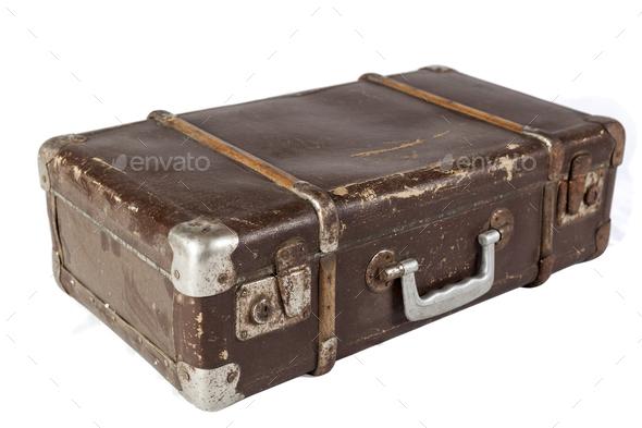 Isolated Suitcase - Stock Photo - Images