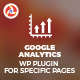 Google Analytics WP Plugin for Specific Pages - CodeCanyon Item for Sale