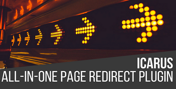Icarus All In One Page Redirect Plugin for WordPress - CodeCanyon Item for Sale
