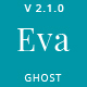 Eva - Responsive Minimal Ghost Theme - ThemeForest Item for Sale