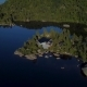Aerial View of Lake House - VideoHive Item for Sale