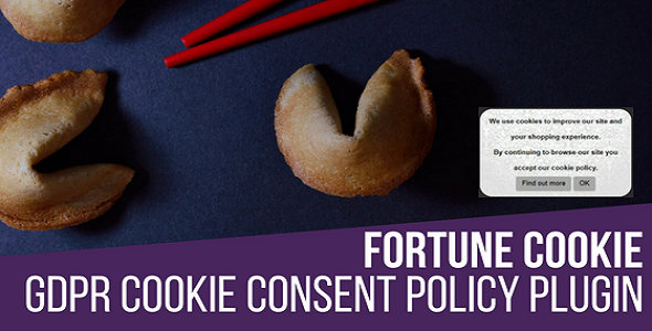 Fortune Cookie Consent Policy WordPress Plugin - CodeCanyon Item for Sale