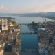 Aerial View of Zurich - VideoHive Item for Sale