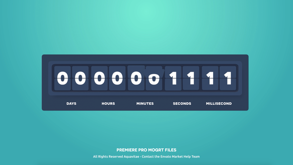 Flip Counter Creator For Premiere By Aquavitae Videohive