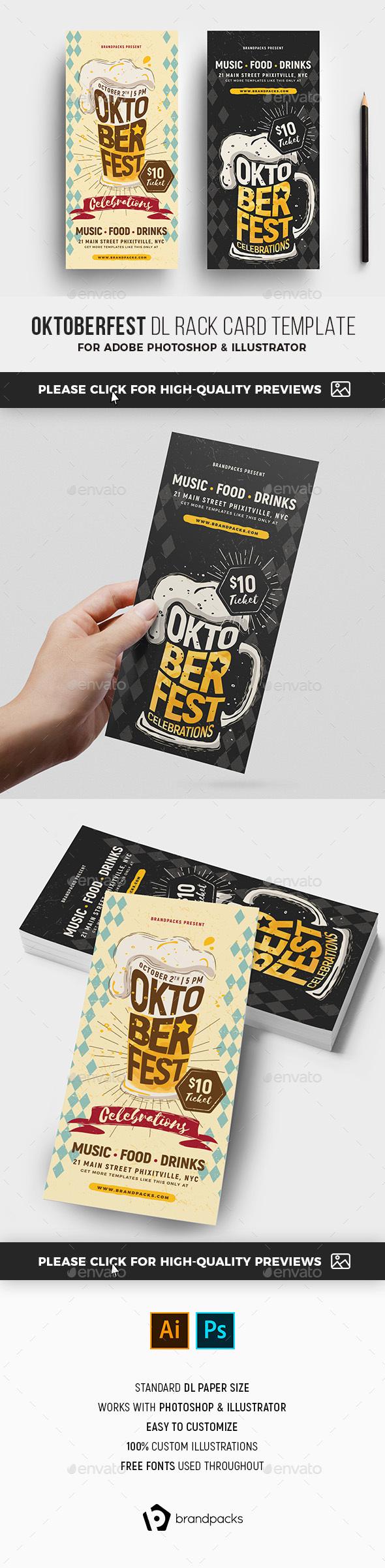 Oktoberfest Dl Flyer Template By Brandpacks Graphicriver