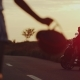 Running African Girl on the Middle of the Road To Her Boyfriend Who Is Waiting - VideoHive Item for Sale