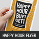 DL Happy Hour Flyer