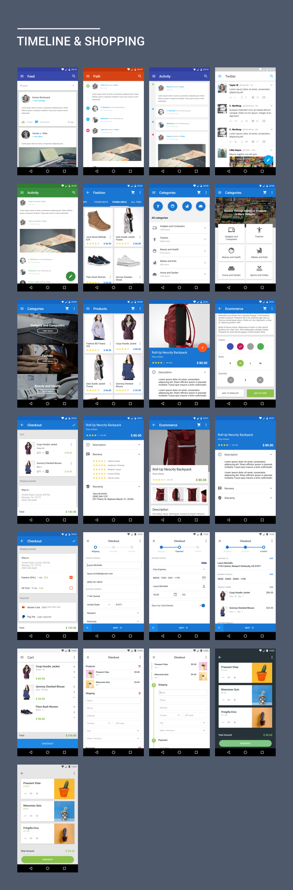 Materialx Android Material Design Ui Components 21 By Dreamspace