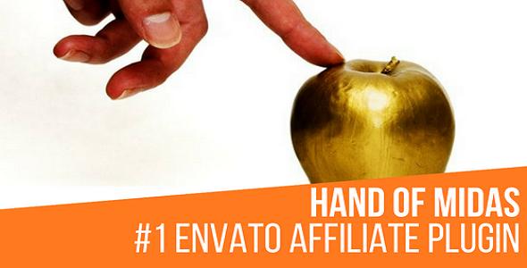 Hand of Midas - Envato Affiliate Money Generator Plugin for WordPress - CodeCanyon Item for Sale