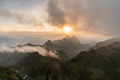 Beautiful sunset Landscape at Doi Luang Chiang Dao in Chiang Mai, Thailand - PhotoDune Item for Sale