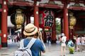 Young traveler taking photo of Sensoji temple in asakusa, Tokyo, Japan - PhotoDune Item for Sale