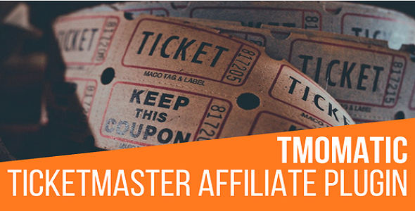 TMomatic TicketMaster Affiliate Post Generator Plugin for WordPress - CodeCanyon Item for Sale