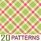 20 Tartan-Plaid Photoshop Patterns - GraphicRiver Item for Sale