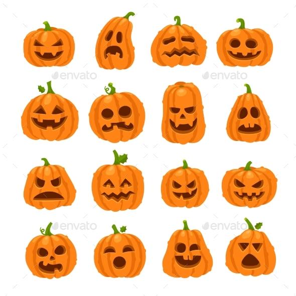 Cartoon halloween pumpkin by tartila graphicriver cartoon halloween pumpkin halloween seasonsholidays thecheapjerseys Gallery