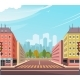 City Street Intersection - GraphicRiver Item for Sale