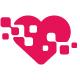 Digital Love Heart Logo