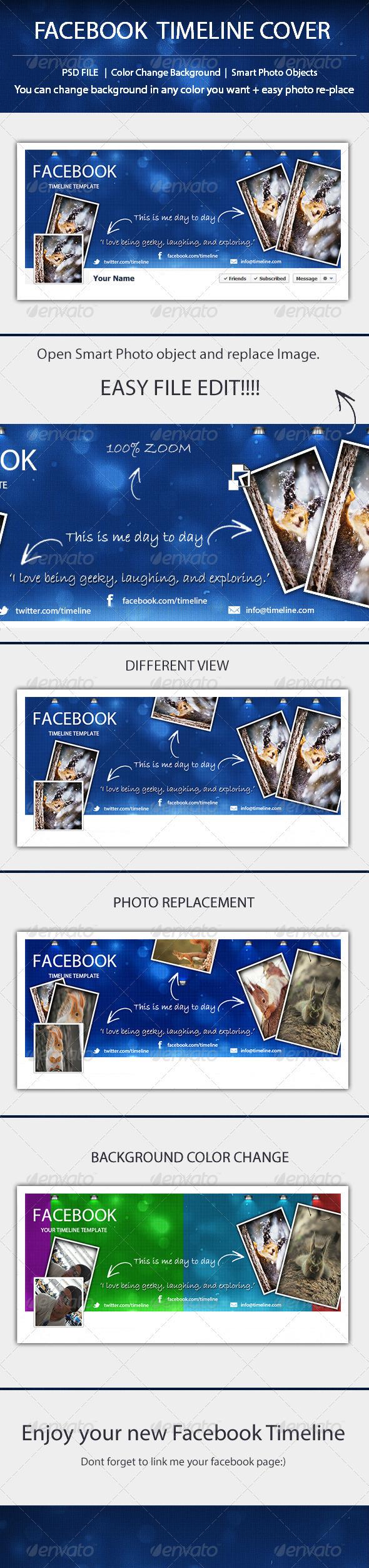 Facbook Timeline Template - Facebook Timeline Covers Social Media