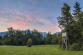 Slovenian landscape with hunting tower - PhotoDune Item for Sale