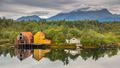 Old warehouses in Norway - PhotoDune Item for Sale