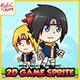 Ninja BeYe - 2D Game Character Sprites