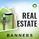 Real Estate Banners - Updated! - GraphicRiver Item for Sale