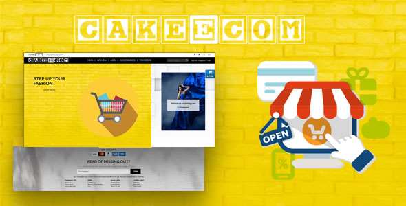 CakeEcom - E-commerce Solution            Nulled