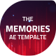 The Memories Words Opener - VideoHive Item for Sale