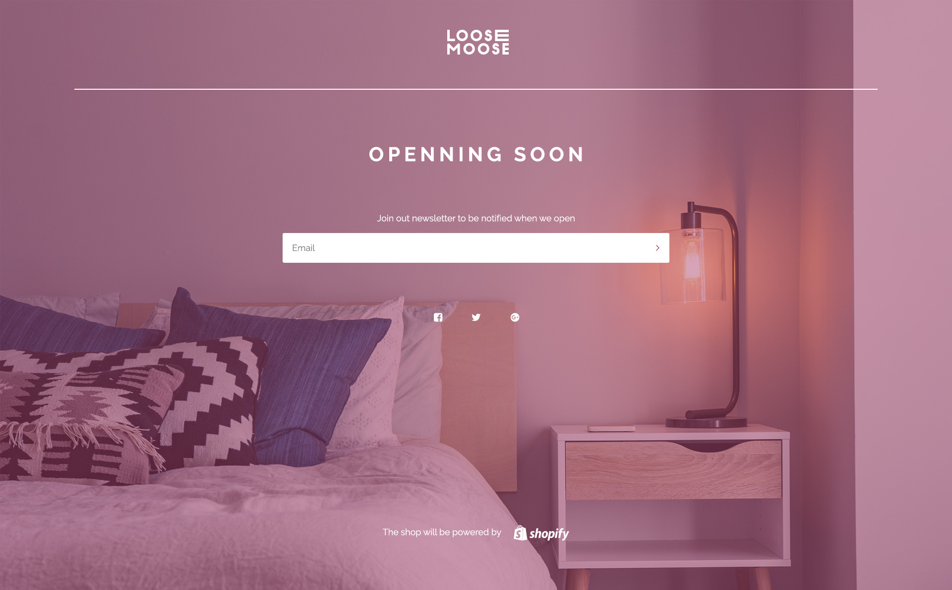 Loose Moose U2014 Minimalist Furniture Store PSD Template