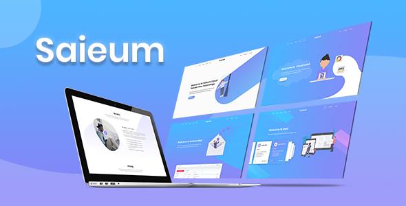 Marvelous Saieum - Software, App & Product Showcase Landing HTML Template