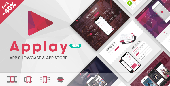 Applay v2.4.5 – WordPress App Showcase & App Store Theme