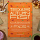 Fall Music Festival Flyer - GraphicRiver Item for Sale