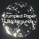 Crumpled Paper Backgrounds - GraphicRiver Item for Sale