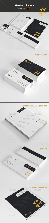 Stationery Branding - Stationery Print Templates