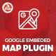 Google Embeded Map - CodeCanyon Item for Sale