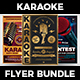 Karaoke Flyer Bundle V1 - GraphicRiver Item for Sale