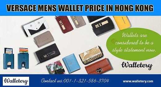 versace mens wallet price in hongkong