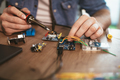 Soldering Electronic Circuit Board - PhotoDune Item for Sale