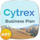 Cytrex - Business Plan PowerPoint Template - GraphicRiver Item for Sale