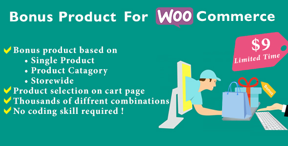 Bonus Product for WooCommerce            Nulled