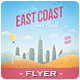 East Coast Travel Flyer - GraphicRiver Item for Sale