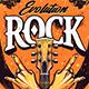 Rock Print Design   Vector Art - GraphicRiver Item for Sale