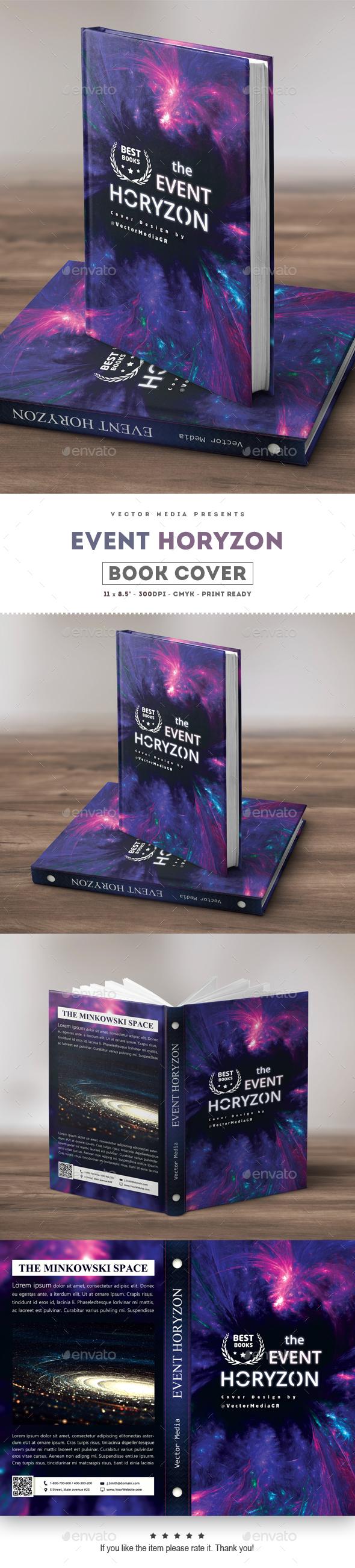 Event Horizon - Book Cover - Miscellaneous Print Templates
