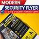 Modern Security Flyer - GraphicRiver Item for Sale