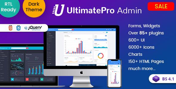 UltimatePro Admin - Bootstrap 4 Admin Dashboard Templates and WebApps Templates - Admin Templates Site Templates