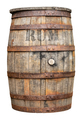 Vintage Wooden Rum Barrel - PhotoDune Item for Sale