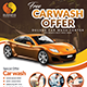 Car Wash Flyers Bundle