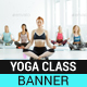 Yoga Classes Banner - GraphicRiver Item for Sale