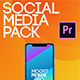 Social Media Pack MOGRT - VideoHive Item for Sale