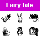 Fairy Tale Vector Icons