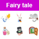 Fairy Tale Color Vector Icons - GraphicRiver Item for Sale